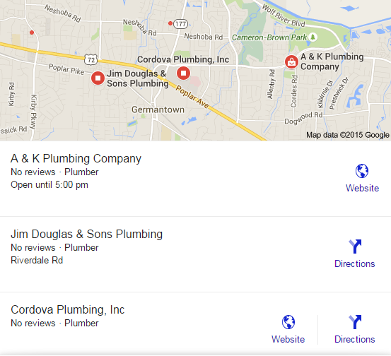 Plumber search local germantown, tn