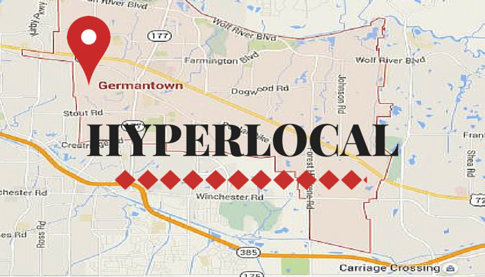 Germantown Tennessee Hyper Local_Prepare1 Image