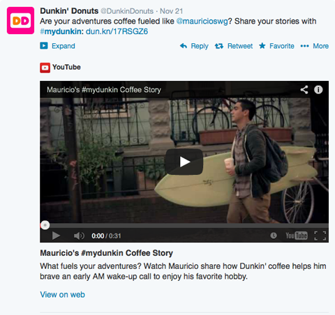 Dunkin Donuts Commercial