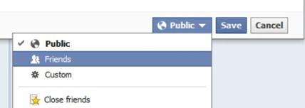 Facebook Timeline Privacy