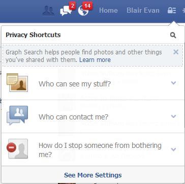 Facebook Privacy Padlock