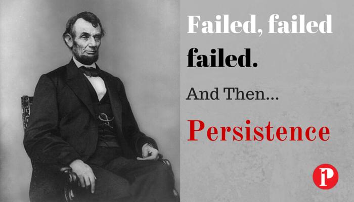 Abraham Lincoln Persistence - Prepare1 Image