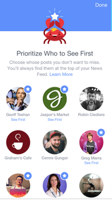 Facebook Prioritize New Preferences