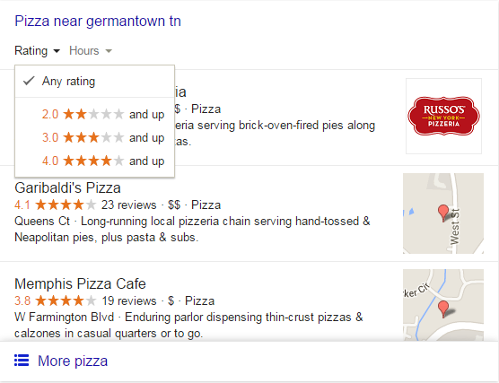 Pizza Near Germantown Google Reviews