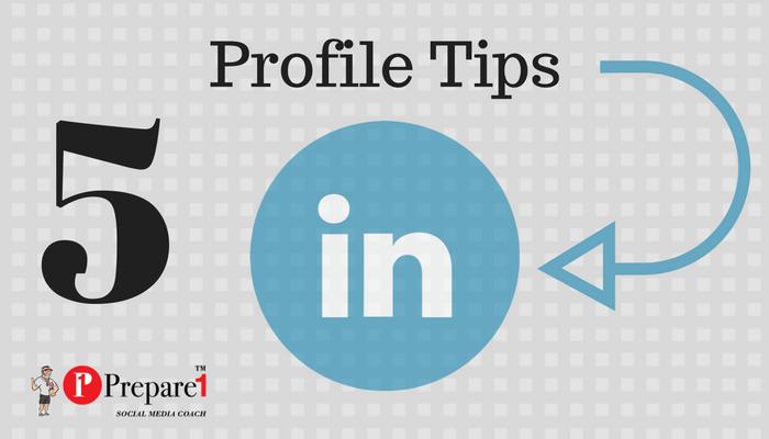 LinkedIn Profile Tips_Prepare1 Image