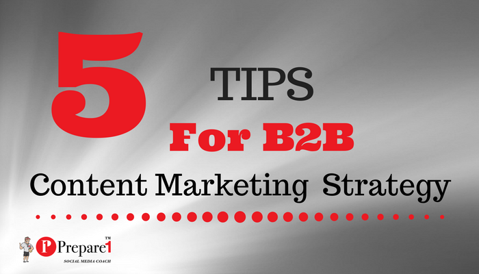 B2B Content Marketing Strategy_Prepare1 Image