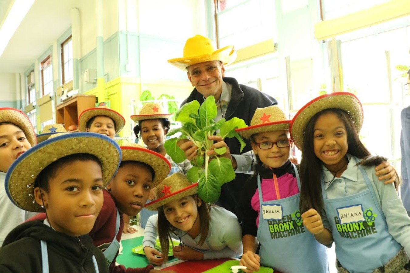 Stephen Ritz and Kids