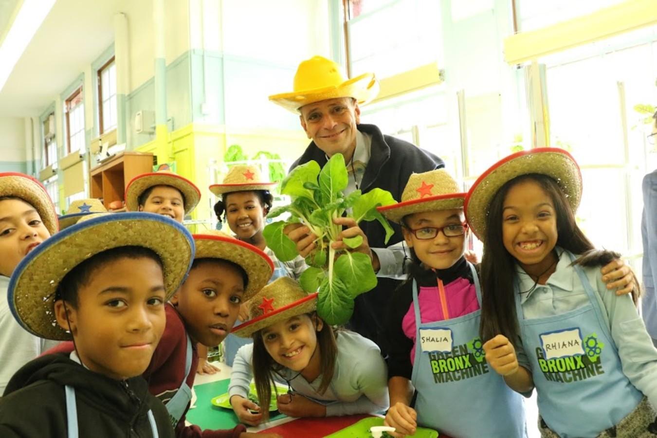 Stephen Ritz and Kids