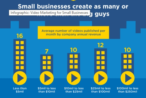 Small business videos stats