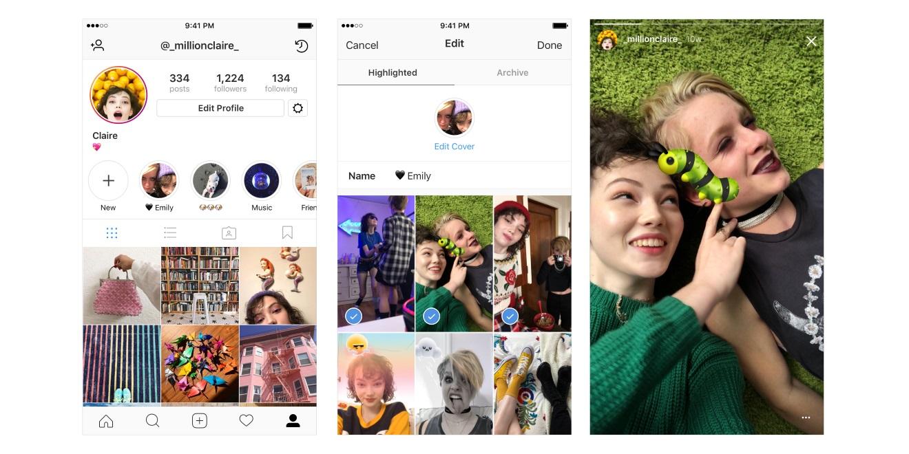InstagramStoriesHighlights